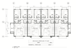 2nd Floor Floorplans