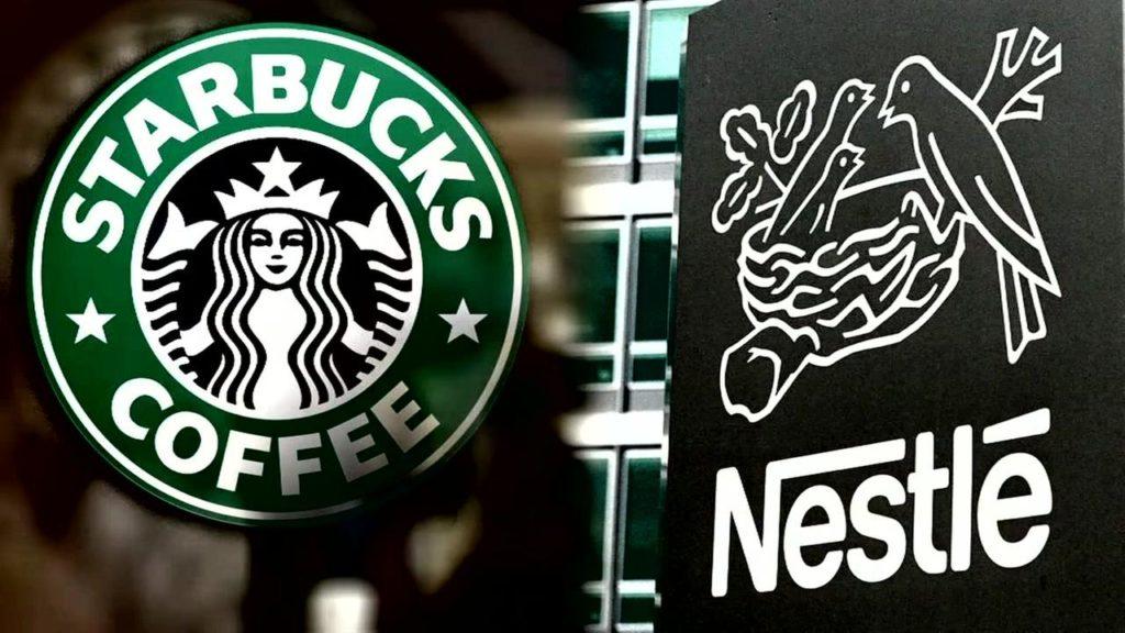 Mega alianza cafetera de Nestlé y Starbuckspor 7,150 mdd
