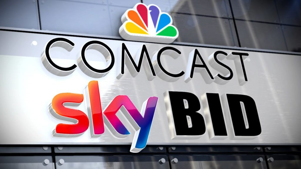 Comcast compró SKY y derrota a FOX en subasta
