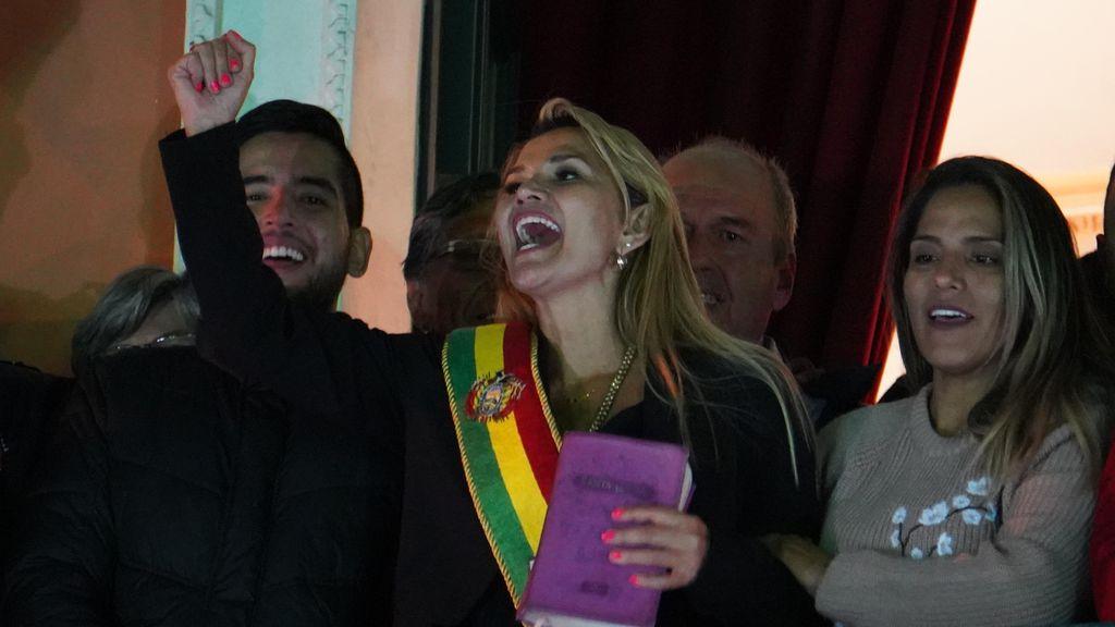 Me dan mucha pena los mexicanos, porque de algo de lo que queremos salir, ellos decidieron entrar: Presidenta de Bolivia