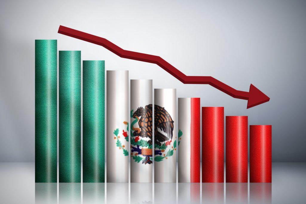 En caída libre la economía de México, bajará 6.6% advierte Fondo Monetario Internacional