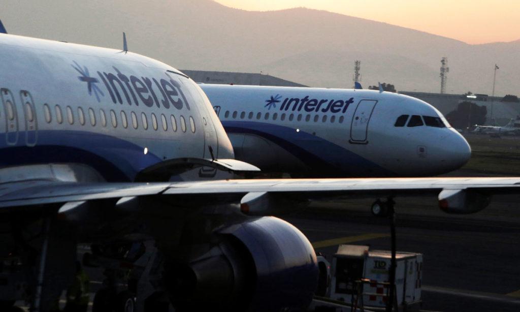 ¡Embargados! Pierde la aerolínea Interjet 27 aviones