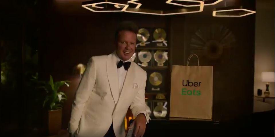 Viral: No se sabe si Luis Miguel cayó muy bajo o Uber Eats subió, pero la crisis los juntó (Video)