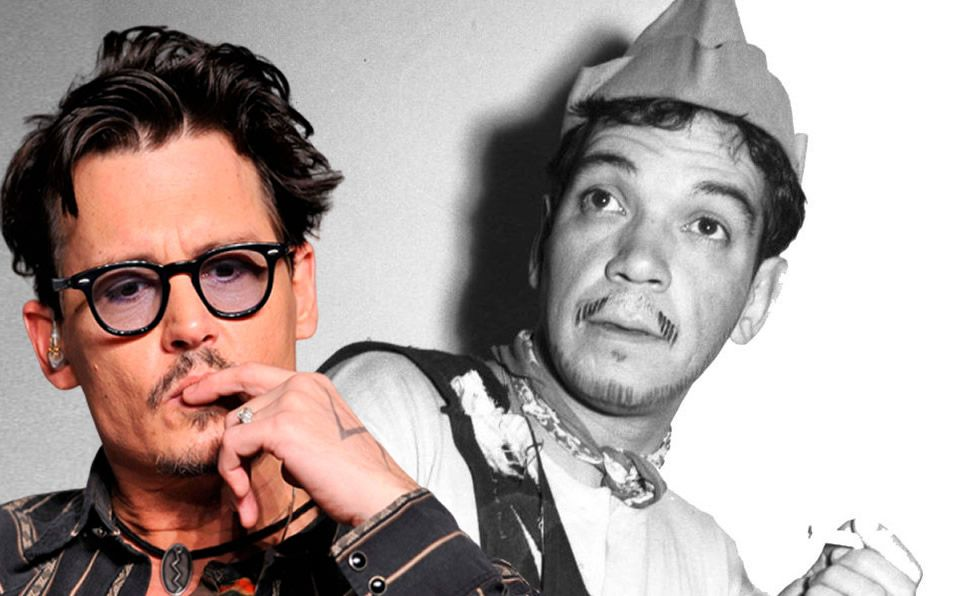 Johnny Depp quiere protagonizar a Cantinflas en una película