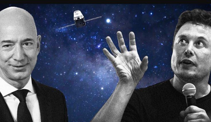Elon Musk ataca a Jeff Bezos y pide desmembrar a Amazon, el pleito es por Kindle