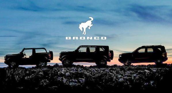 Llega la nueva Ford Bronco en tres irresistibles configuraciones