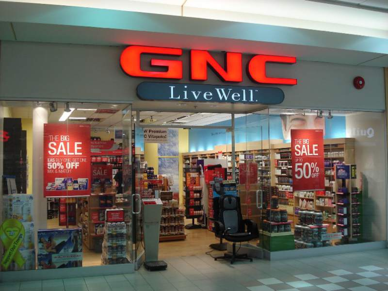 GNC está cerrando tiendas y se declaró en quiebra pero en México seguirán operando