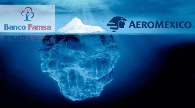 Aeromexico a ley de bancarrota en Estados Unidos, FAMSA quiebra por préstamos