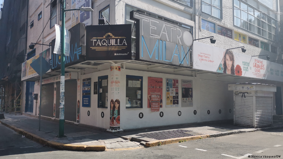En México el sector cultural lucha por sobrevivir a la pandemia