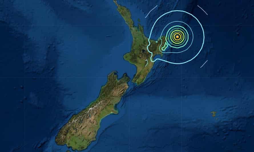 Nueva Zelanda emite alerta de tsunami tras un tercer terremoto de 8.0