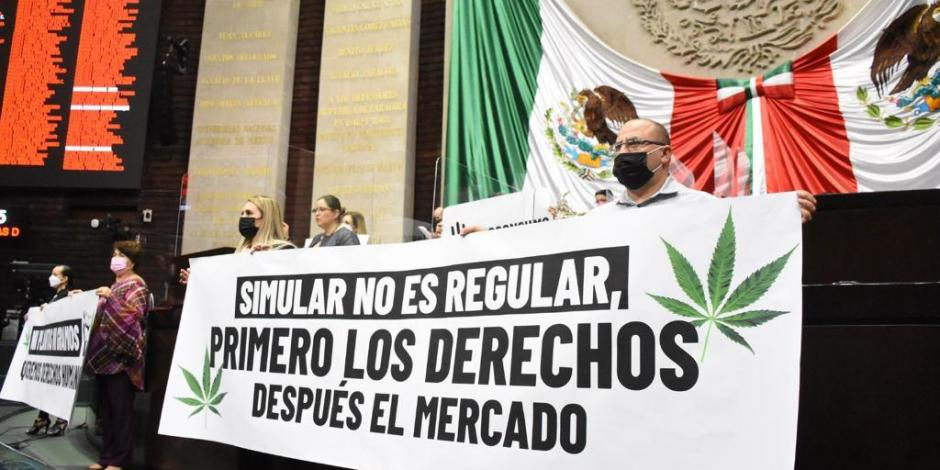 Diputados aprueban en lo general la despenalización y uso lúdico de la marihuana