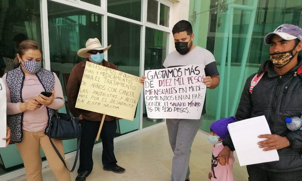 Inhumano Juan Ferrer y el Insabi: padres de niños con cáncer denuncian falta de medicamentos oncológicos