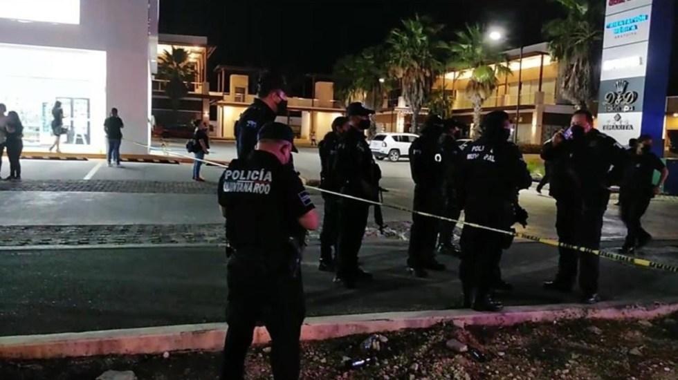 VIDEO: Ataque a un bar en Cancún deja un muerto y cuatro heridos
