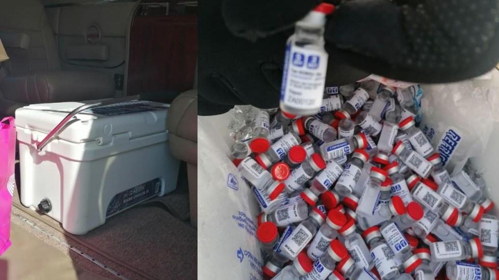 Campeche: SAT decomisa 5775 vacunas de Sputnik V que iban de contrabando a Honduras