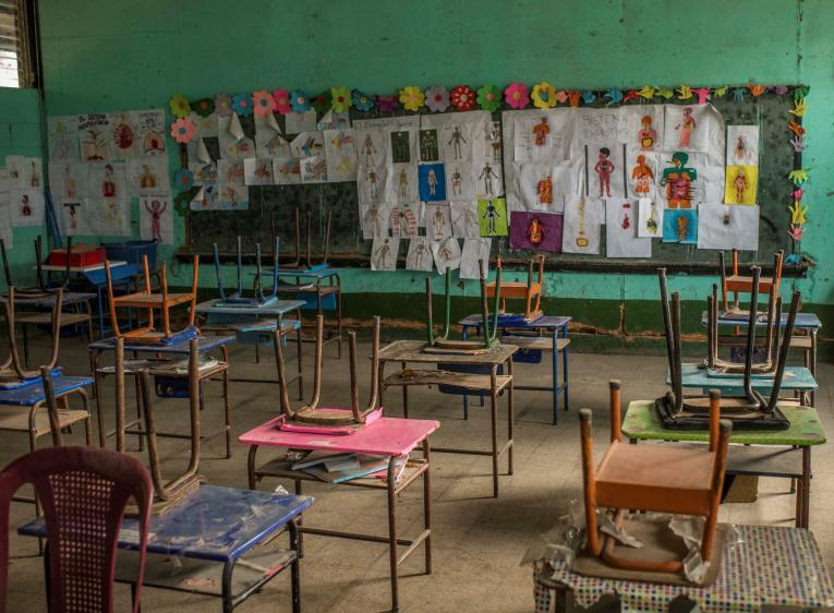 Las escuelas primero llama UNICEF, Latinoamérica registra el cierre escolar más prolongado en el mundo