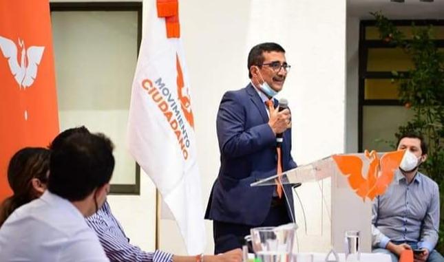 Tuxtla Gutiérrez: Paco Rojas ya es candidato de Movimiento Ciudadano