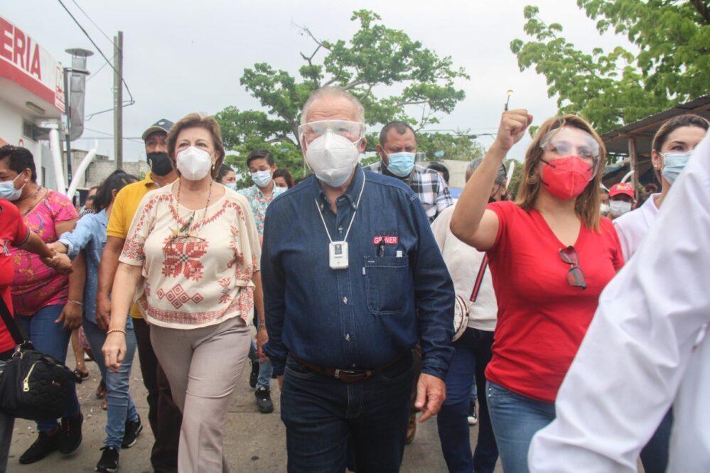 Y el químico Andrés Granier regresó, propuso municipalizar Ciudad Bicentenario