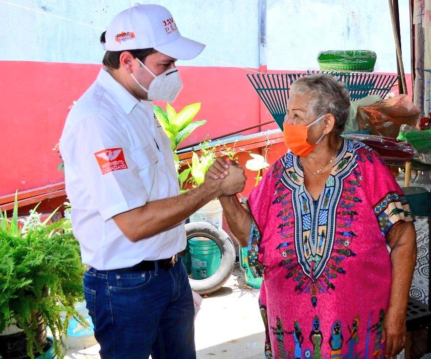 Llama Javier Pérez a los ciudadanos a participar y tomar parte en la política