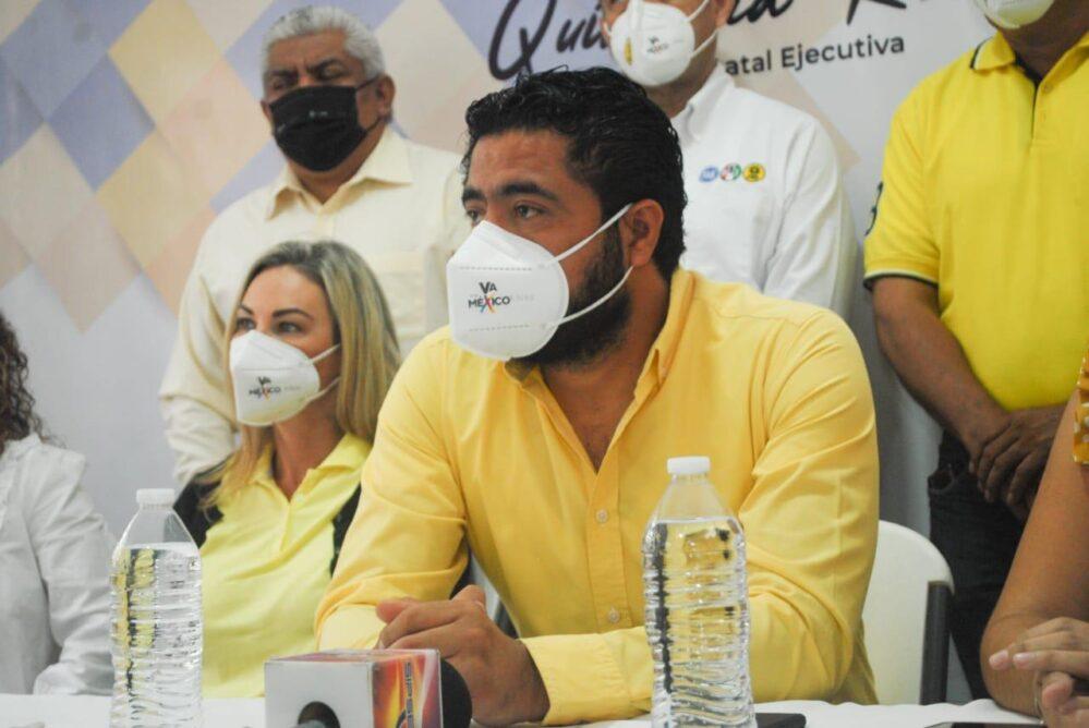 Demanda PRD Quintana Roo la libertad de Rogelio Franco preso político en Veracruz