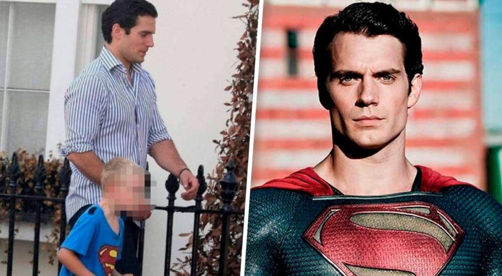 Dijo que su tío era Superman, no le creyeron, al día siguiente llegó con Henry Cavill