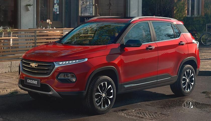 Llega a México el Chevrolet Groove 2022, un SUV subcompacto de origen chino