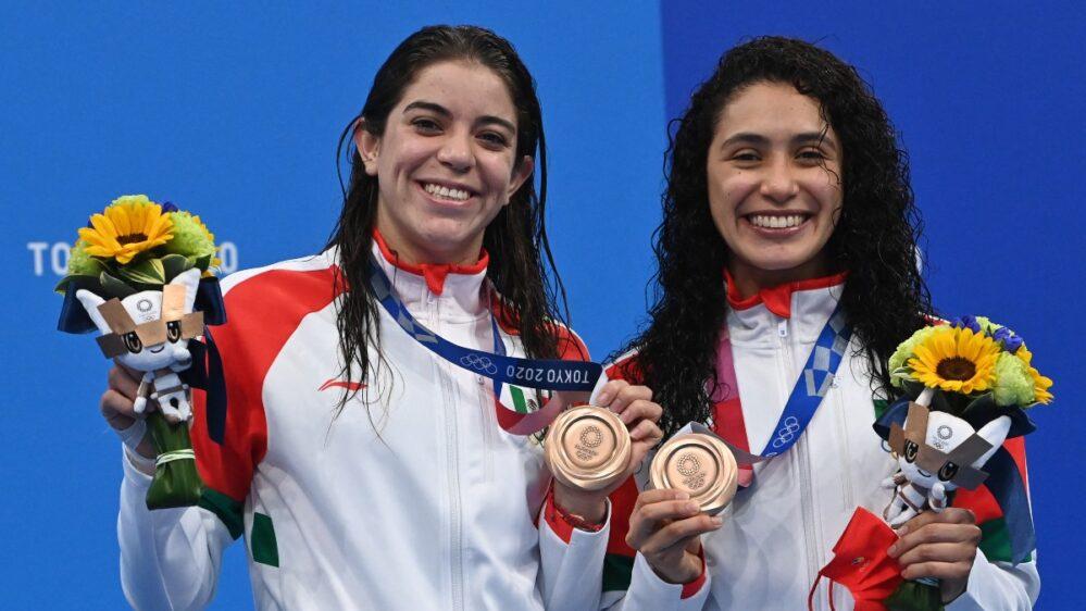Alejandra Orozco y Gabriela Agúndez son de bronce, México gana medalla en clavados