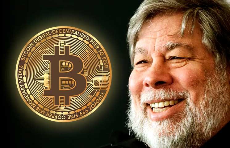 El Bitcoin es mejor que el oro afirma Steve Wozniak, cofundador de Apple