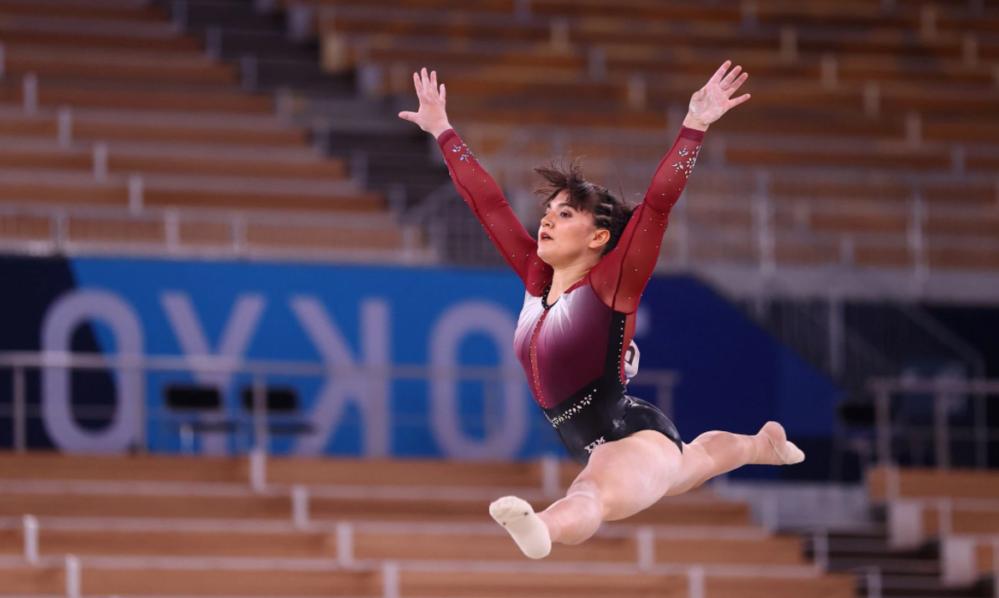 Alexa Moreno con música anime califica a la final de salto de caballo en Tokio 2020