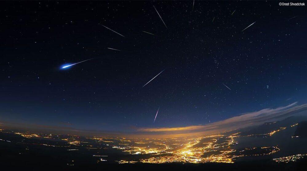 Llegan las Perseidas y a partir de hoy podrás disfrutar de la intensa lluvia de estrellas