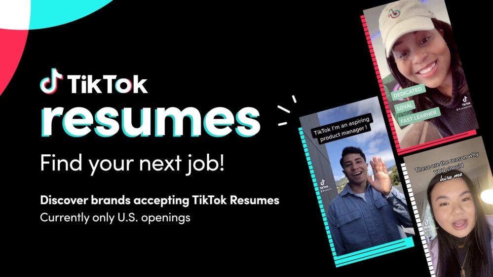 ¿Sin empleo? TikTok lanza nueva función para postularte a trabajos