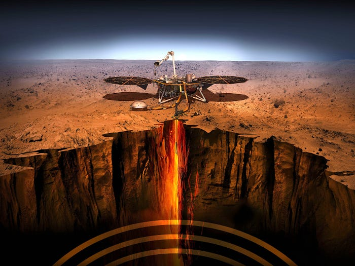 Registra la NASA sismo de más de ¡Una hora y media! en Marte