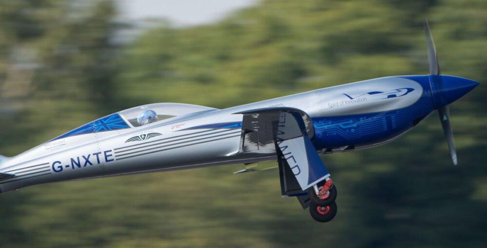 VIDEO: Vuela con éxito el 'Spirit of Innovation', el nuevo avión eléctrico de Rolls Royce