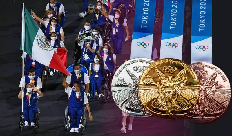 ¡Mexicanos destacados! México en el top 20 del medallero de los Juegos Paralímpicos de Tokio