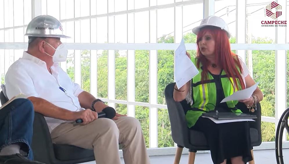 Destapa Layda Sansores irregularidades en Ciudad Administrativa de Campeche