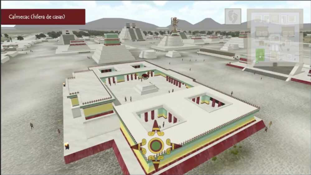 ¡Viaja por el tiempo y recorre la antigua Tenochtitlán!
