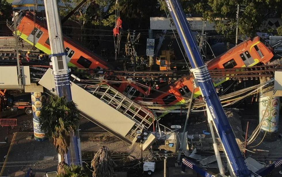 La caída de la Línea 12 del Metro fue por errores de construcción: Fiscalía CDMX