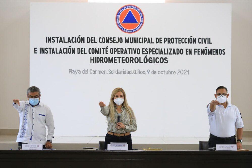 Se acabaron las malas prácticas de Protección Civil en Solidaridad: Lili Campos