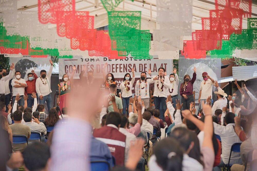 En Morena la gente decide: Mario Delgado
