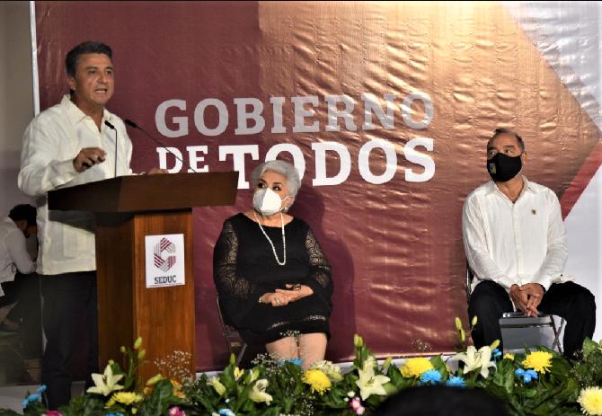 Con Obrador y Layda Sansores la educación seguirá siendo guía para la prosperidad: Raúl Pozos