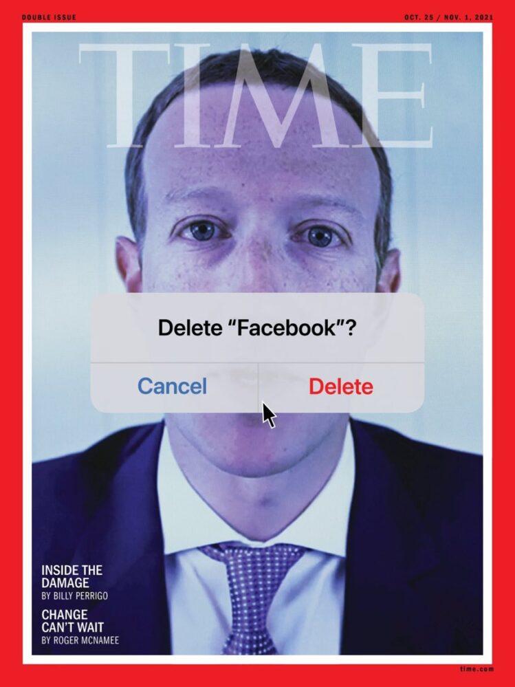 Borrar tu cuenta de Facebook propone la revista TIME