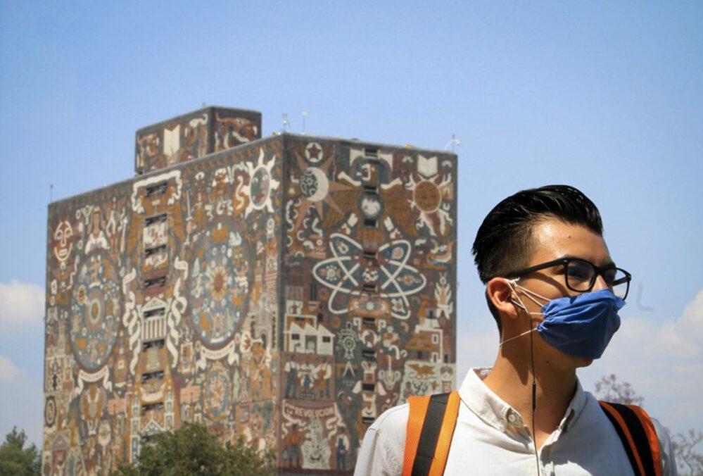 La UNAM aumentará aforo para clases presenciales por semáforo verde