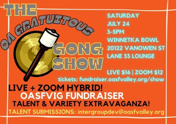 The OA Gratuitous Gong Show! @ Winnetka Bowl (Lane 33 Lounge)