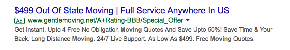 google-ad-example-with-callout-extensions