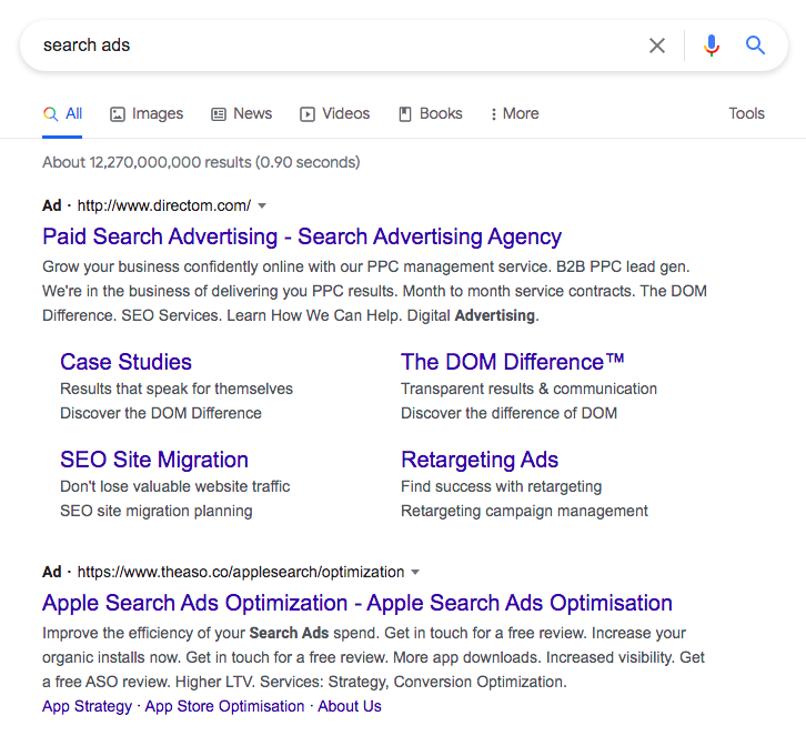 Google-Search-Ads-example-ppc-campaign-management