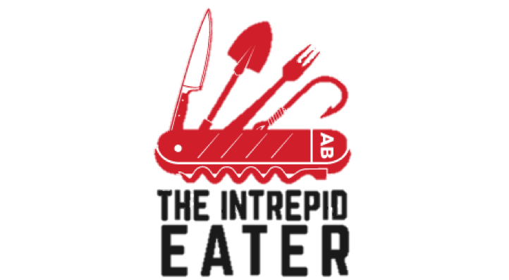 The Intrepid Eater log no background