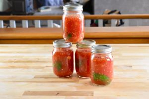 4 jars of diced tomatoes