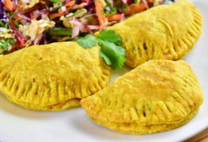 venison Jamaican patties