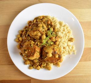 Moroccan Pike Meatballs on Couscous