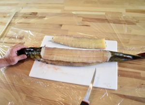 how to break down a pike