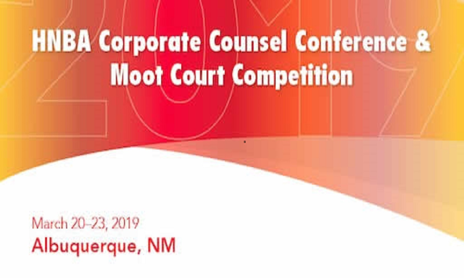 HNBA 2019 Corporate Counsel Conference – Mar. 20-23